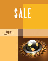 Financial/Accounting: Modello Poster - Valuta globale #05065