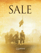 Military: American Civil War Sale Poster Template #05086