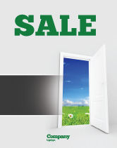 Business Concepts: Exit Sale Poster Template #05111