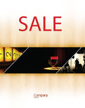 Art & Entertainment: Film Director Sale Poster Template #05179