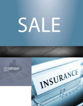 Careers/Industry: Insurance Sale Poster Template #05253