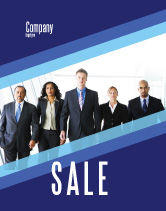 Business: Business Professionals Sale Poster Template #05332