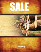 Careers/Industry: Saw Mill Sale Poster Template #05341