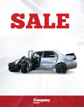 Consulting: Accident Sale Poster Template #05346