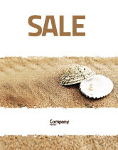 Holiday/Special Occasion: Pearl Sale Poster Template #05378