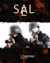Military: SWAT Sale Poster Template #05404