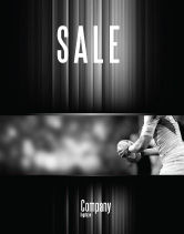 Sports: Rugby Football Sale Poster Template #05421