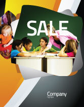 Education & Training: Class Teaching Sale Poster Template #05430