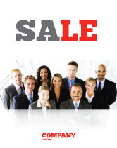 Business: Business Personnel Sale Poster Template #05550