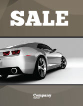Cars/Transportation: Car Sale Poster Template #05566