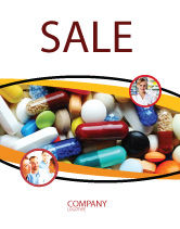 Medical: Drug Treatment Sale Poster Template #05572