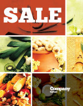 Food & Beverage: Gifts of Nature Sale Poster Template #05587