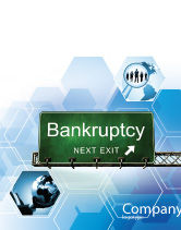 Financial/Accounting: Bankrupt Sale Poster Template #05652