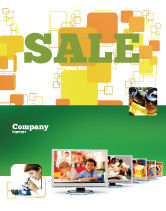 Education & Training: Kids Computer Sale Poster Template #05659