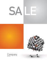 Business Concepts: Schaakpartij Poster Template #05694