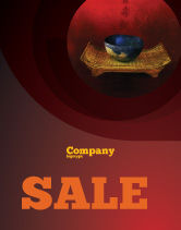 Art & Entertainment: Chinese Bowl Sale Poster Template #05716