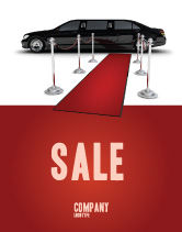 Art & Entertainment: Limousine Poster Template #05720