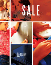 Education & Training: Primary School Sale Poster Template #05730