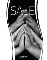 Religious/Spiritual: Family Harmony Sale Poster Template #05745