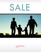 People: 포스터 템플릿 - 가족 산책 #05802