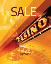 Careers/Industry: Casino Poster Template #05811