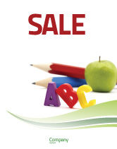 Education & Training: Start Education Sale Poster Template #05823