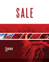 Medical: Arteries Sale Poster Template #05868