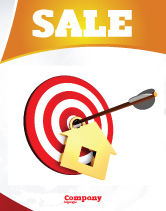 Consulting: House Target Sale Poster Template #05927