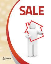 Consulting: Modèle d'Affiche de dette de la maison #05934