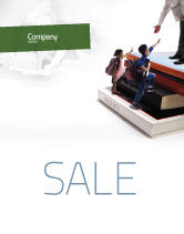 Education & Training: School Tests Sale Poster Template #06043