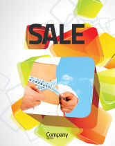 Sports: Slimming Sale Poster Template #06061
