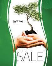 Nature & Environment: Growth Sale Poster Template #06130