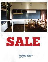 Education & Training: Recitation Room Sale Poster Template #06205