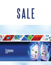 Medical: Pulmonology Sale Poster Template #06243