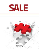 Consulting: Handling Sale Poster Template #06255