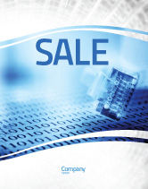 Technology, Science & Computers: Digital Life Sale Poster Template #06265