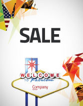 Careers/Industry: Welcoming Billboard Sale Poster Template #06333