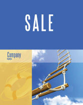 Consulting: Rope Ladder Sale Poster Template #06366