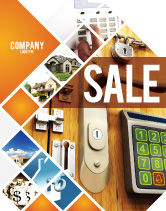 Careers/Industry: Absolutely Secure Sale Poster Template #06413