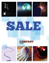 Technology, Science & Computers: Internet eCommerce Technology Sale Poster Template #06475