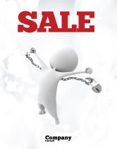 Consulting: Release Sale Poster Template #06529