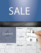 Consulting: Financial Planning Sale Poster Template #06534