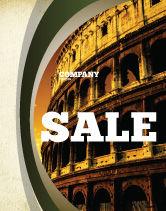 Construction: Templat Poster Colosseum #06549
