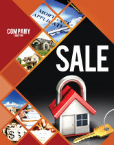 Financial/Accounting: Turnkey House Sale Poster Template #06556
