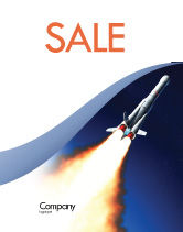 Technology, Science & Computers: Launch Sale Poster Template #06584