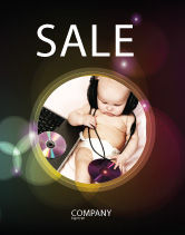 People: Hi-Tech Baby Sale Poster Template #06585