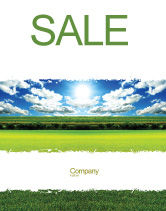 Nature & Environment: Bright Day Sale Poster Template #06630