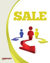 Business Concepts: Life Choices Sale Poster Template #06753