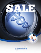 Medical: Medicine Sale Poster Template #06812