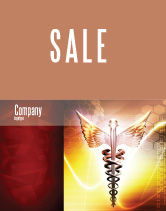 Medical: Caduceus Sale Poster Template #06948